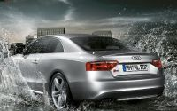 Серебристая Audi S5