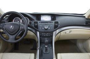 Панель автомобиля Acura-TSX