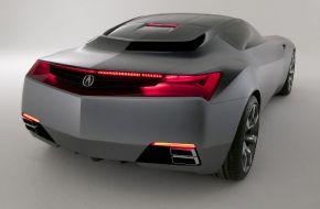 Концепт автомобиля Acura x