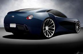 Суперкар Bugatti Streamliner