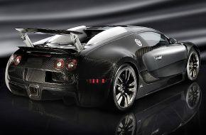 Автомобиль Bugatti Veyron Mansory Linea Vincero