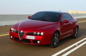 Красной Alfa Romeo Brera