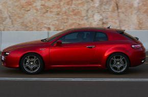 Alfa Romeo Brera в профиль
