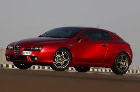 Alfa Romeo Brera на трассе