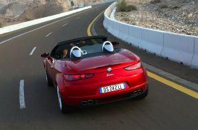 Alfa Romeo Spider вид сзади