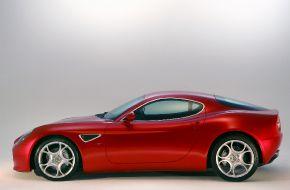 Alfa Romeo 8C Competizione - спортивный автомобиль