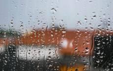 дождь, стекло, капли дождя, окно