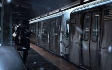 Снежная Платформа метро