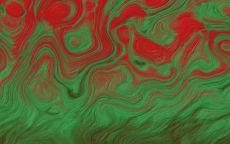 Зеленным по красному