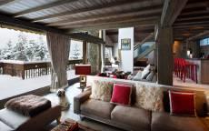Франция, Альпы, Шале «Les Brames», зима, уют, собака