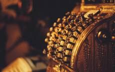 Золотой кассовый аппарат