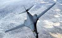 Бомбардировщик в полете