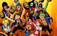 Веселая компания анимешников