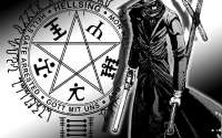 Манга Аниме, Hellsing, пентаграмма