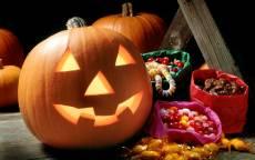 Хеллоуин тыква с улыбкой