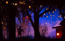 Белая ночь на Хеллоуин Праздник