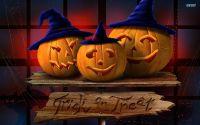 Три тыквы Хеллоуин