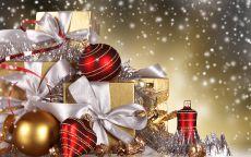 Новогодние подарки и игрушки