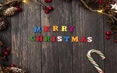 поздравление, с рождеством, елочные ветки