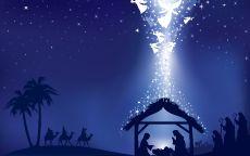Рождество Христово открытка