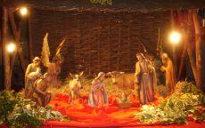 Сцена Рождество Христово