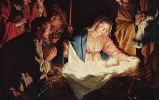 Рождество Христово картина