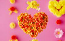 День Святого Валентина Цветы