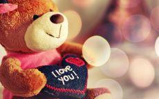 Мишка Теди с сердцем