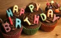 Пирожные С Днем Рождения