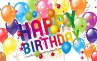 Воздушные шары С Днём Рождения!