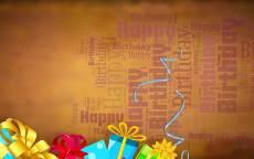 Фон Happy Birthday, Фон с днем рождения, открытка с днем рождения