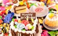 Пирожное С Днем Рождения!
