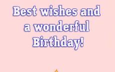 поздравление с днем рождения открытка, торт со свечкой, воздушные шары, подарки