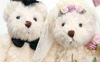 Мишки жених и невеста