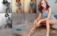 Jennifer Lopoz в голубом