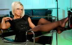 Деловая женщина в офисе
