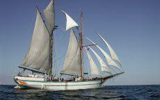 Яхта Бриг