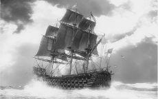 Парусное судно барк