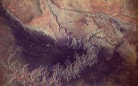 Гранд Каньон вид из космоса