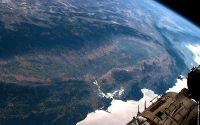 Вид из космоса на Национальный парк Секвойя