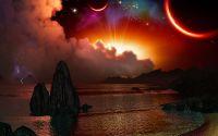 Восход на чужой планете