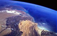 Вид на океан из космоса