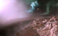 Каньон на неизвестной планете