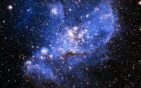 Голубые яркие звезды