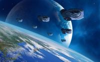 Армада космических кораблей