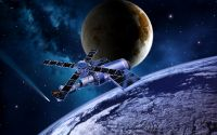 Солнечные батареи МКС