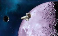 Полет над Луной