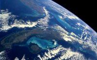 Земля вид из космоса
