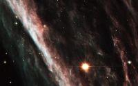 Звезда на фоне тумманости