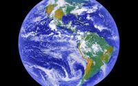 Южная Америка вид из космоса